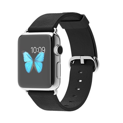 Apple-watch-black-classic-buckle