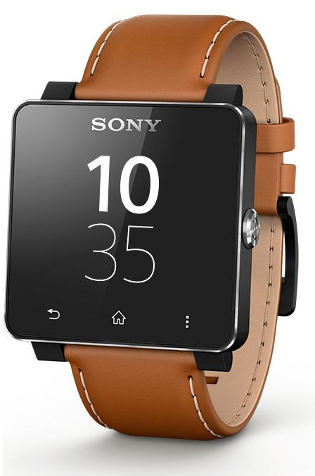 SONY-SE20-SMARTWATCH-2-WRIST-STRAP-BROWN-COLOUR