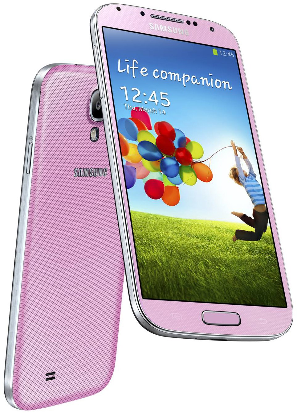 Samsung--Galaxy-s4-Pink-Colour