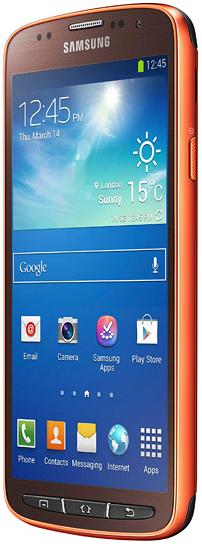 Samsung-i9295-Galaxy-S4-Active-Orange-colour